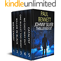 JOHNNY SILVER THRILLER BOX SET five gripping action-packed thrillers