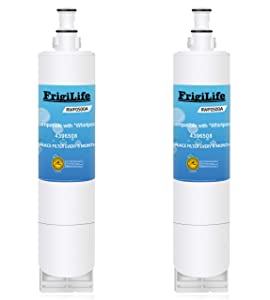 FrigiLife 4396508 Refrigerator Water Filter Replacement For Whirlpool 4396510, 4392857, Filter 5, EDR5RXD1, WFL400, NL240V, wf285, 2-Pack