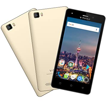 Moviles Libres Baratos 4g v mobile A10 Android 7.0 - 5 Pulgadas HD Moviles Baratos Quad Core 8GB 5MP Cámara Dual SIM GPS Telefonos 2800mAh Móviles y ...