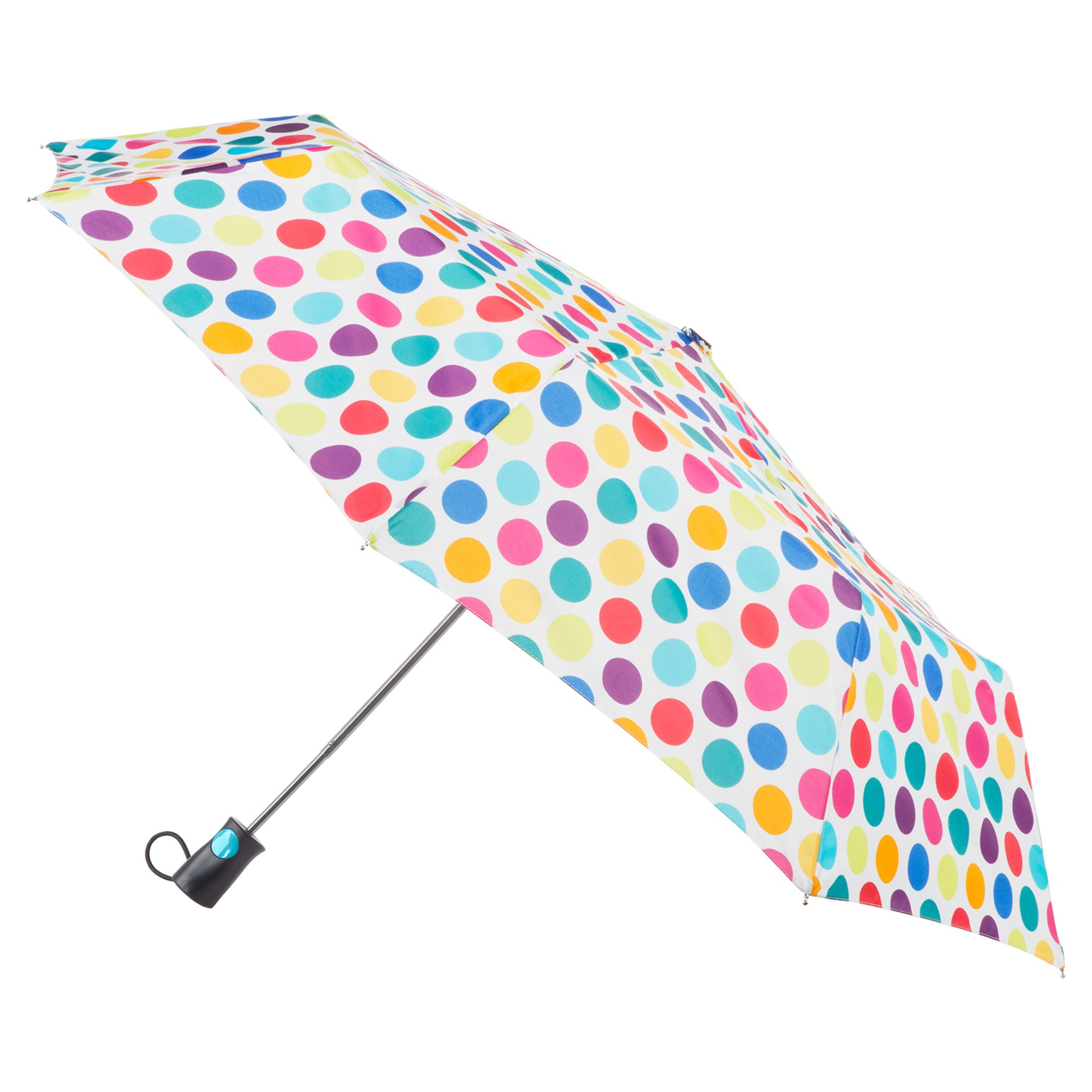 totes Women's Sunguard One-Touch Auto Open Umbrella with Neverwet, Judy Garland