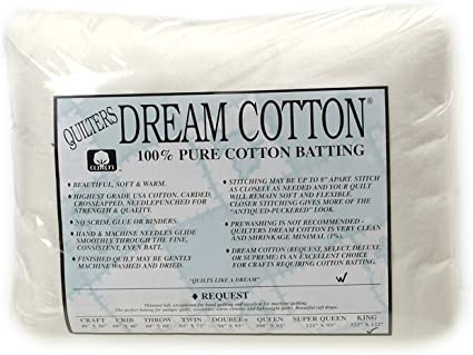 Quilters Dream Request Natural Cotton King Batting
