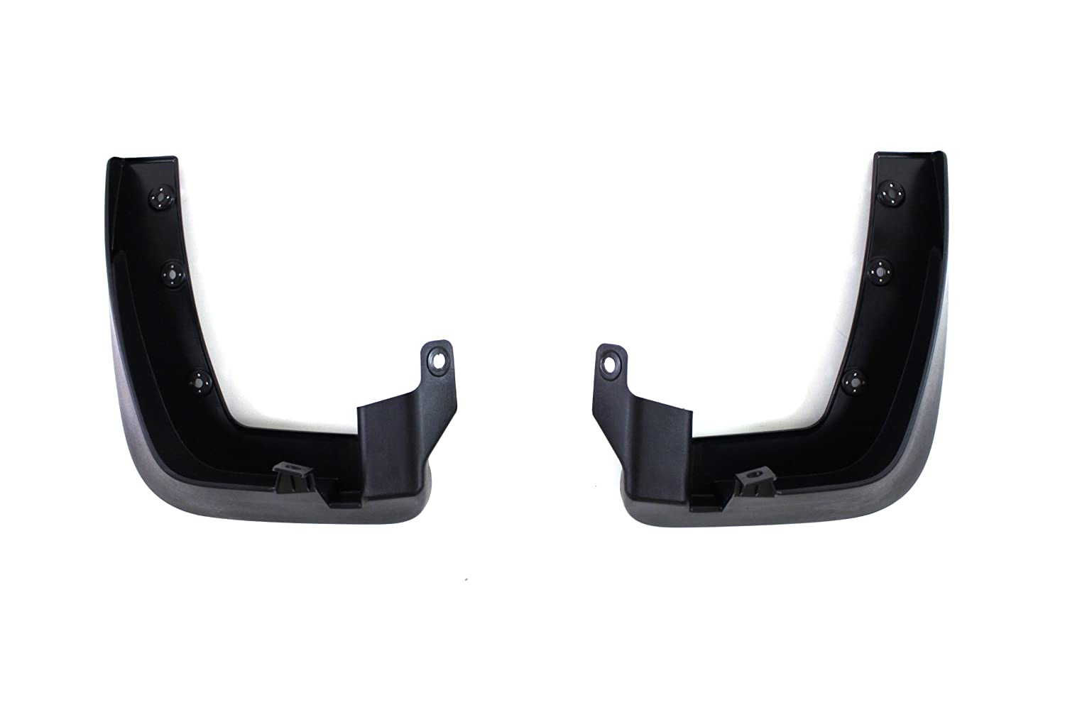 HYUNDAI Genuine Accessories 08460-3J000 Black Front and Rear Splash Guard Veracruz