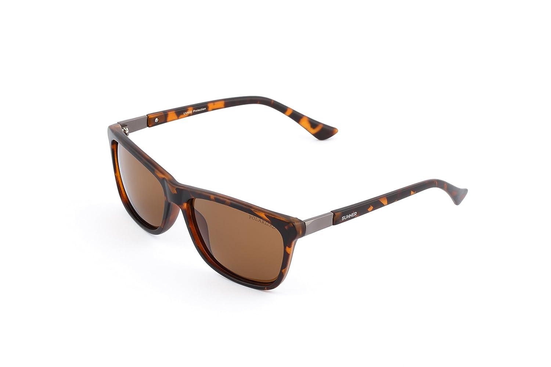 Sunner Gafas de Sol Para Hombre y Mujer Protección UV400 SUP6082C3 Lentes Polarizadas Montura Ligera Resistente a los Golpes: Amazon.es: Ropa y accesorios