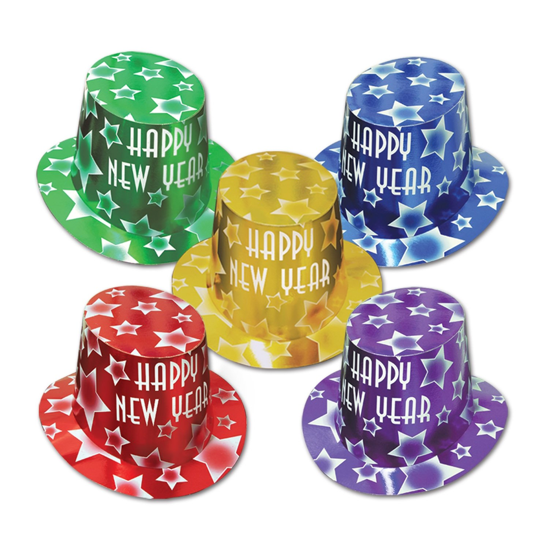 Beistle 88815 – 25 – gem-star salut-hats – Confezione da 25