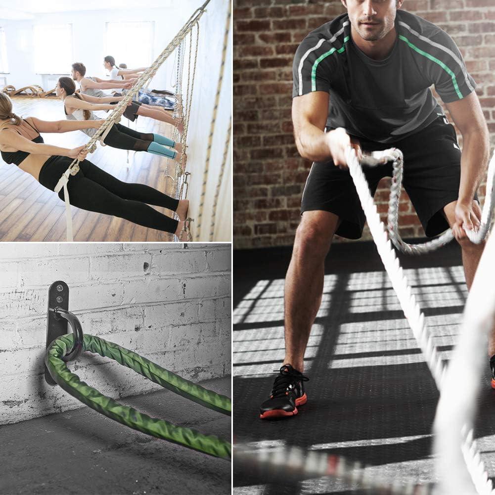 Wall Battle Rope Anchor Suspension Straps Swing Sandbag Hammock Fixing