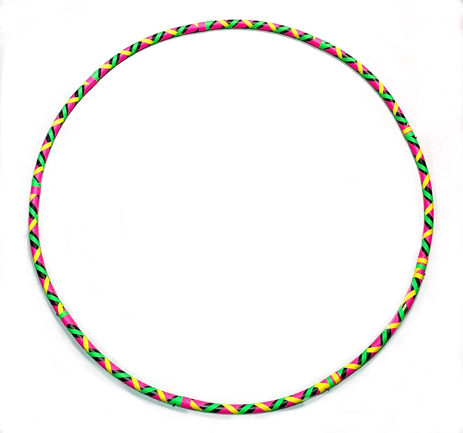 aRoundJoy CUSTOM Snap-n-gO WOO-Hoop Large Adult Adjustable Lightly Weighted Hoop for Fitness Exercise Dance