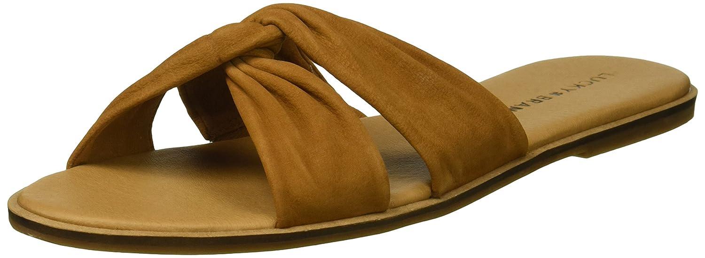 Lucky Brand Women's Dezzee Slide Sandal B077JJ8W9W 9 M US|Sandy