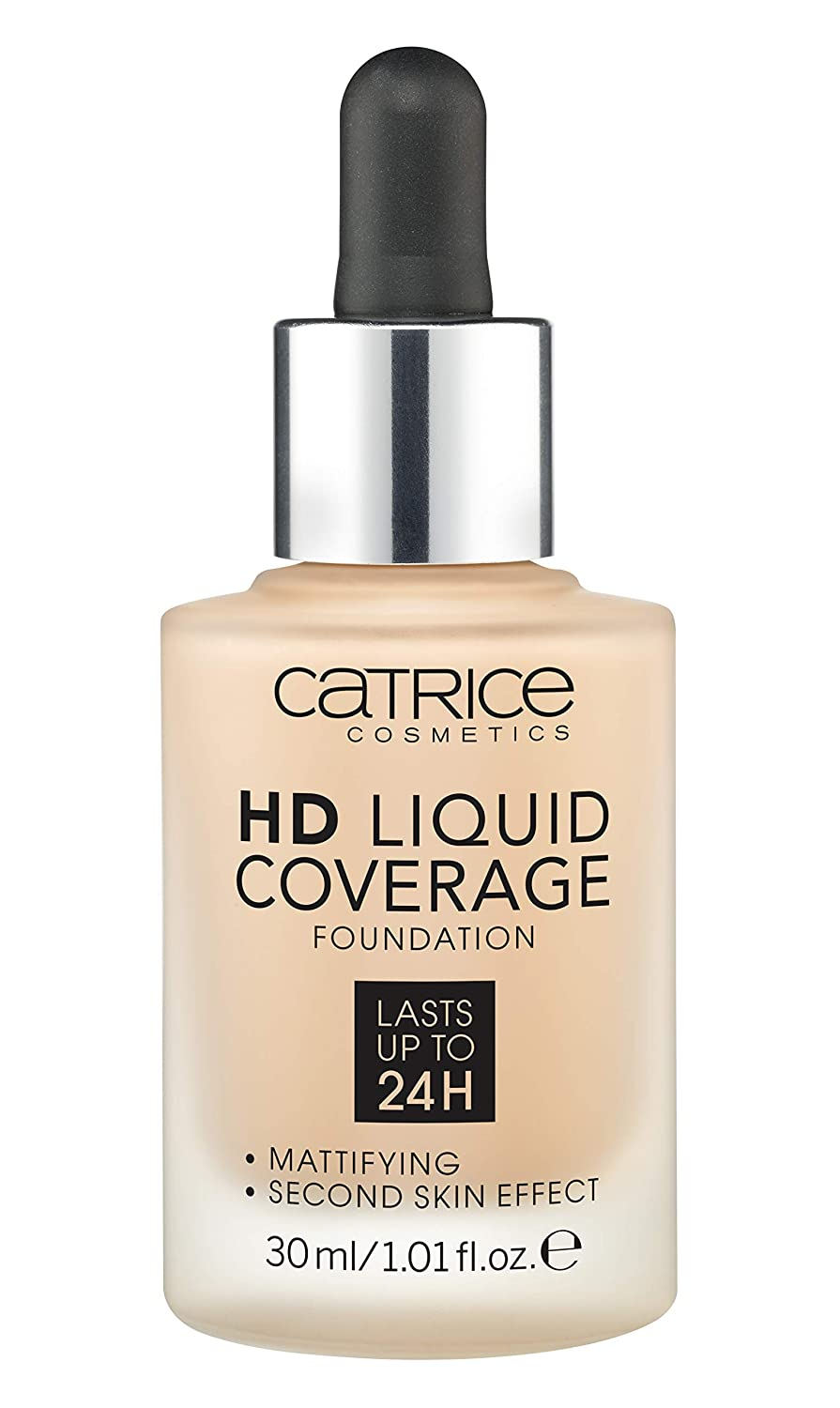 Catrice Make-up HD Liquid Coverage Foundation Sand Beige 30 1er Pack (1 X 150 grams) 180990