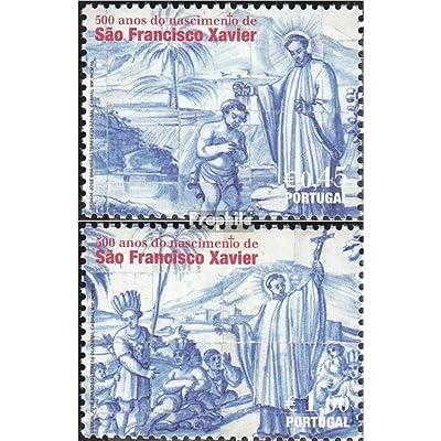 Portugal 3042-3043 (complète.Edition.) 2006 saint Franz xaver (Timbres pour les collectionneurs)