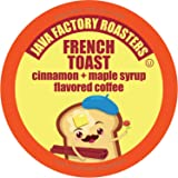 Java Factory Coffee Pods Cinnamon and Maple Flavored Coffee for Keurig K Cup Brewers, French Toast, 40 Count