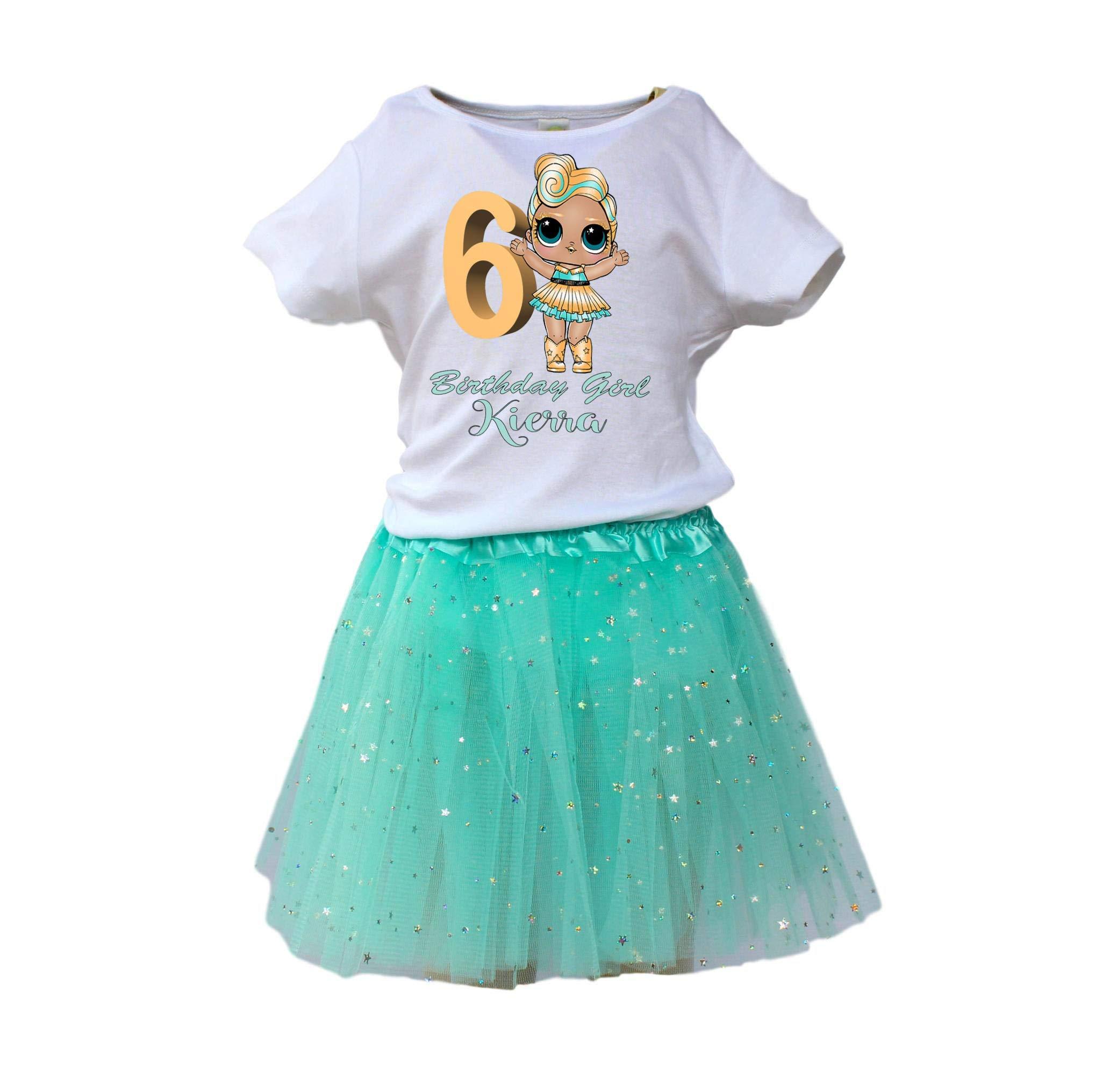 Girl LOL Dolls TUTU birthday outfit Girl LOL age name tutu dress LOL Dolls tutu dress girl tutu by Bele-Creations