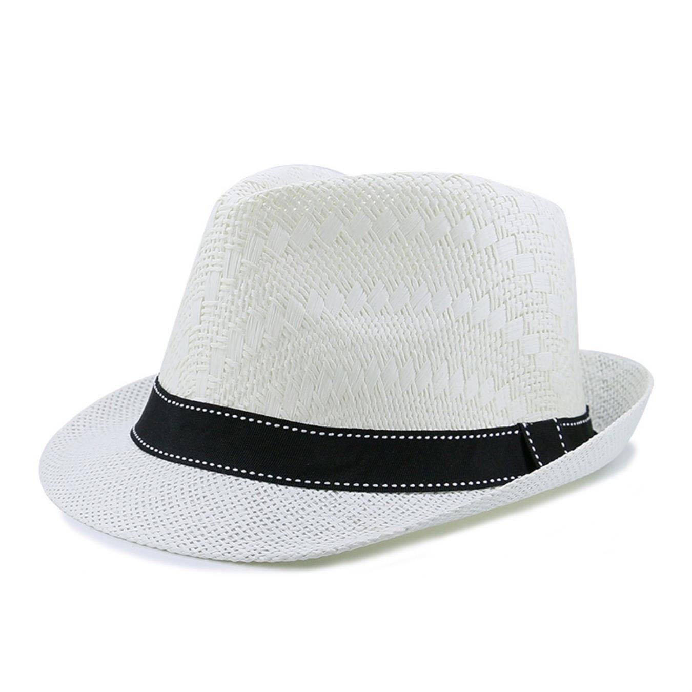 Summer Beach Sun Hat Women Designer Casual Fedora Straw Hat at Amazon  Women s Clothing store  5c79988927b