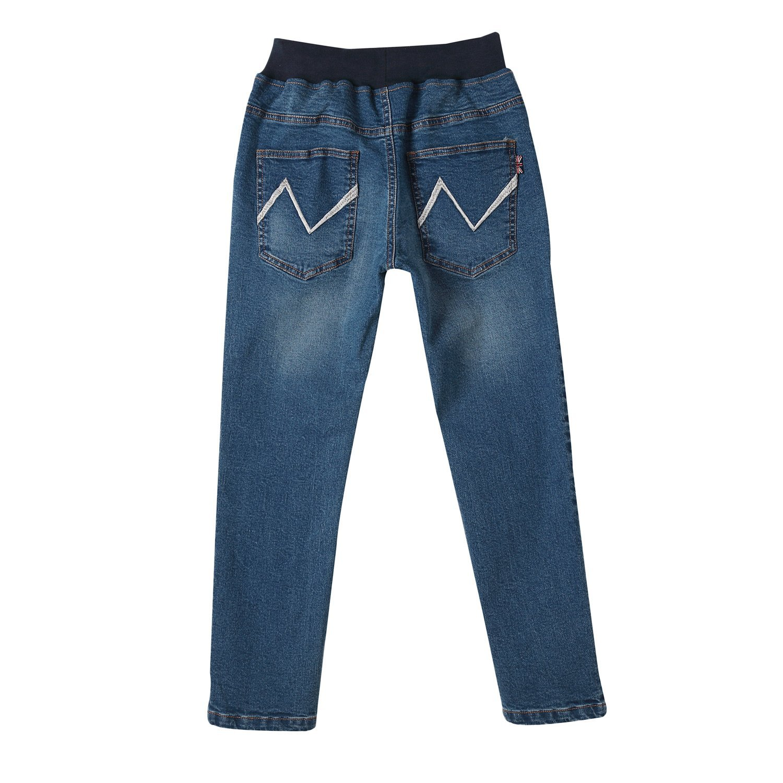 Leo&Lily Boys' Kids' Husky Rib Waist Stretch Denim Jeans Pants (10) by Leo&Lily (Image #8)