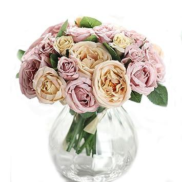 Doitsa Blumenstrauss Hochzeit Kunstliche Blumen Deko Blumen