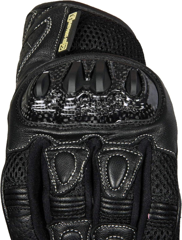 YEZZ Clothing ADX Motorrad Handschuh Handschuh Touchscreen Echtleder Carbon Kochenschutz Security