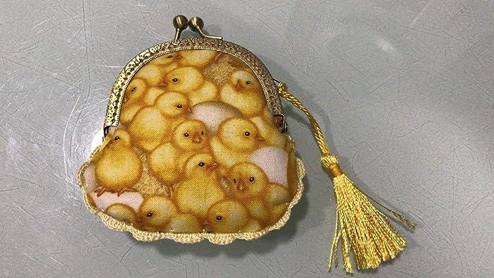 Monedero hecho a mano tela pollitos: Amazon.es: Handmade
