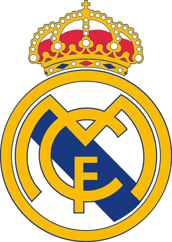 Adhesivo Pegatina Adhesivo Sticker Real Madrid 8 cm Aufkleber ...