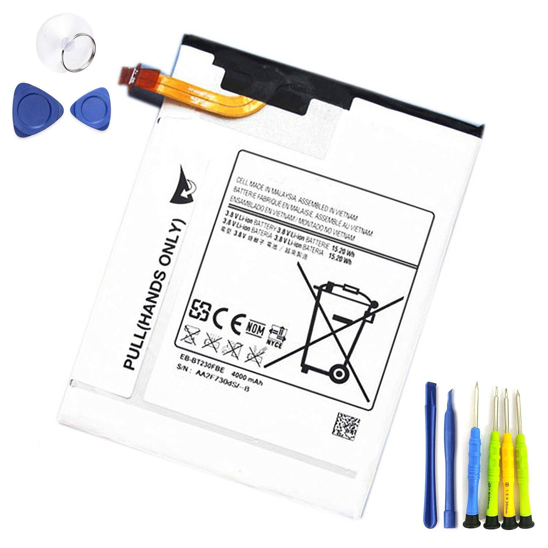 Bateria Dentsing EB-BT230FBE 3.8V 4000mAh para Samsung GALAXY TAB 4 7.0 SM-T230 SM-T235