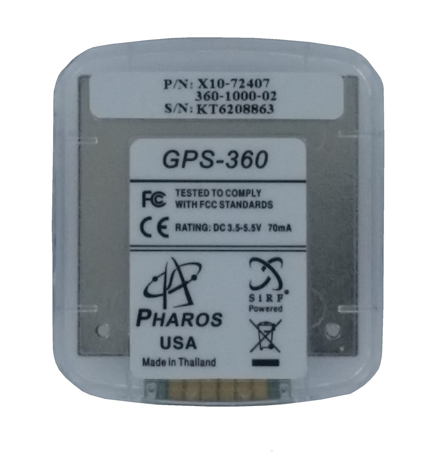 MICROSOFT PHAROS GPS 360 WINDOWS 10 DRIVERS DOWNLOAD