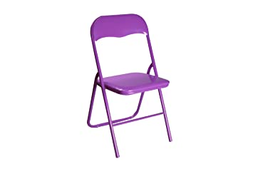 Versa 19840072 - Silla plegable, color morado