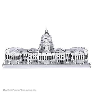 Fascinations Metal Earth 3D Metal Model - US Capitol Building