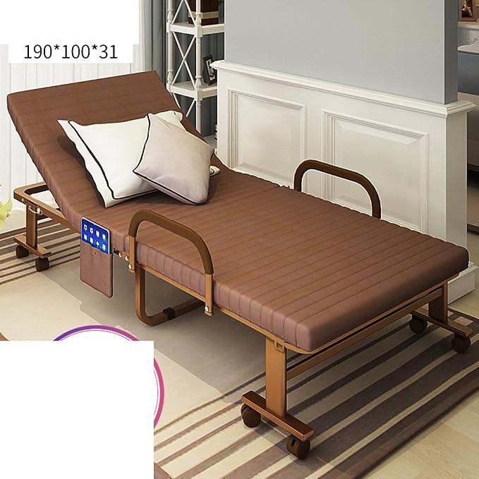 Lit Pliant/Lit Simple/Repose-lit/Chaise Pliante Simple De Salon/Sieste Office/Canapé Invisible-O