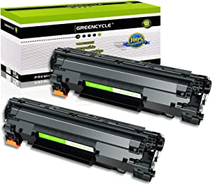 GREENCYCLE 2 PK Black Laser Toner Cartridges Compatible for Canon C128 CRG 128 ImageClass D550 D530 MF4412 MF4580dn