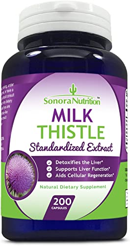 Sonora Nutrition Milk Thistle Standardized Extract