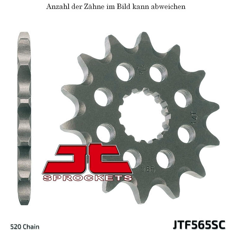 13er Ritzel Suzuki GS 500 E 89-93 JT Sprockets JTF565.13SC jtSprockets