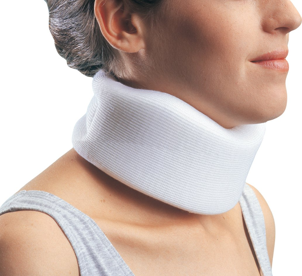 ProCare Low Contour Cervical Collar Neck Support Brace: Medium Density, Large