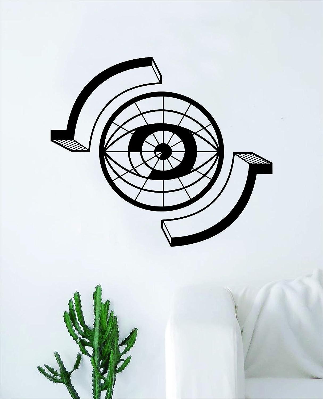 Boop Decals Optometry Eye Wall Decal Sticker Vinyl Art Bedroom Living Room Decor Decoration Teen Quote Inspirational Boy Girl Office Optometrist Doctor Medical Glasses
