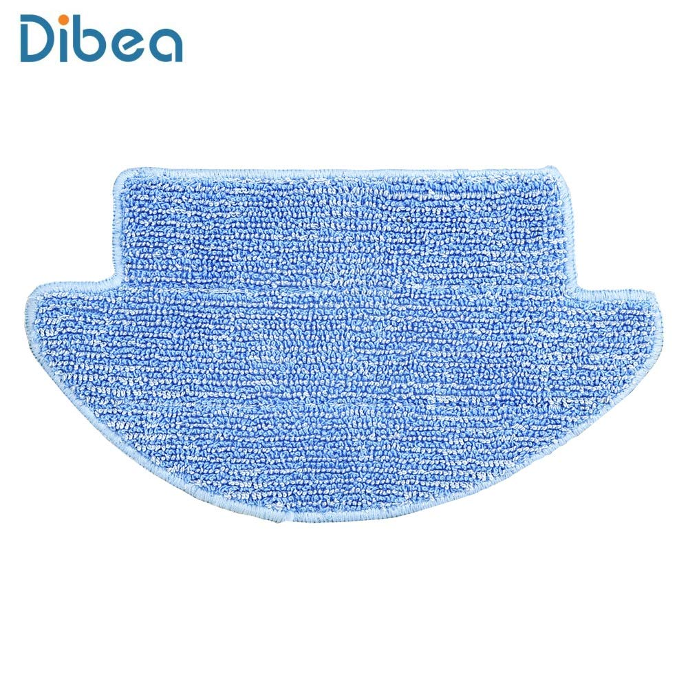 Professional Mop Sweeper Accessories Replacement fit for Dibea D960 for Dibea D850 2 Pack D850 Robotic Vacuum Cleaner