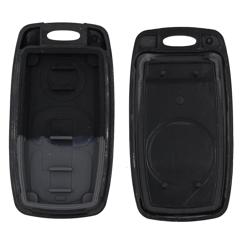 2 botones Llave remota Funda FOB para Mazda 2 3 6 323 626 Reemplazo de llave sin pulir