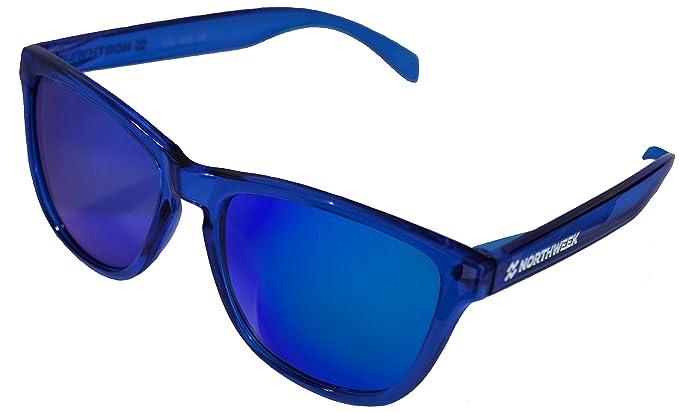 NORTHWEEK Gafas de sol ALL Bright Blue   lente azul ...