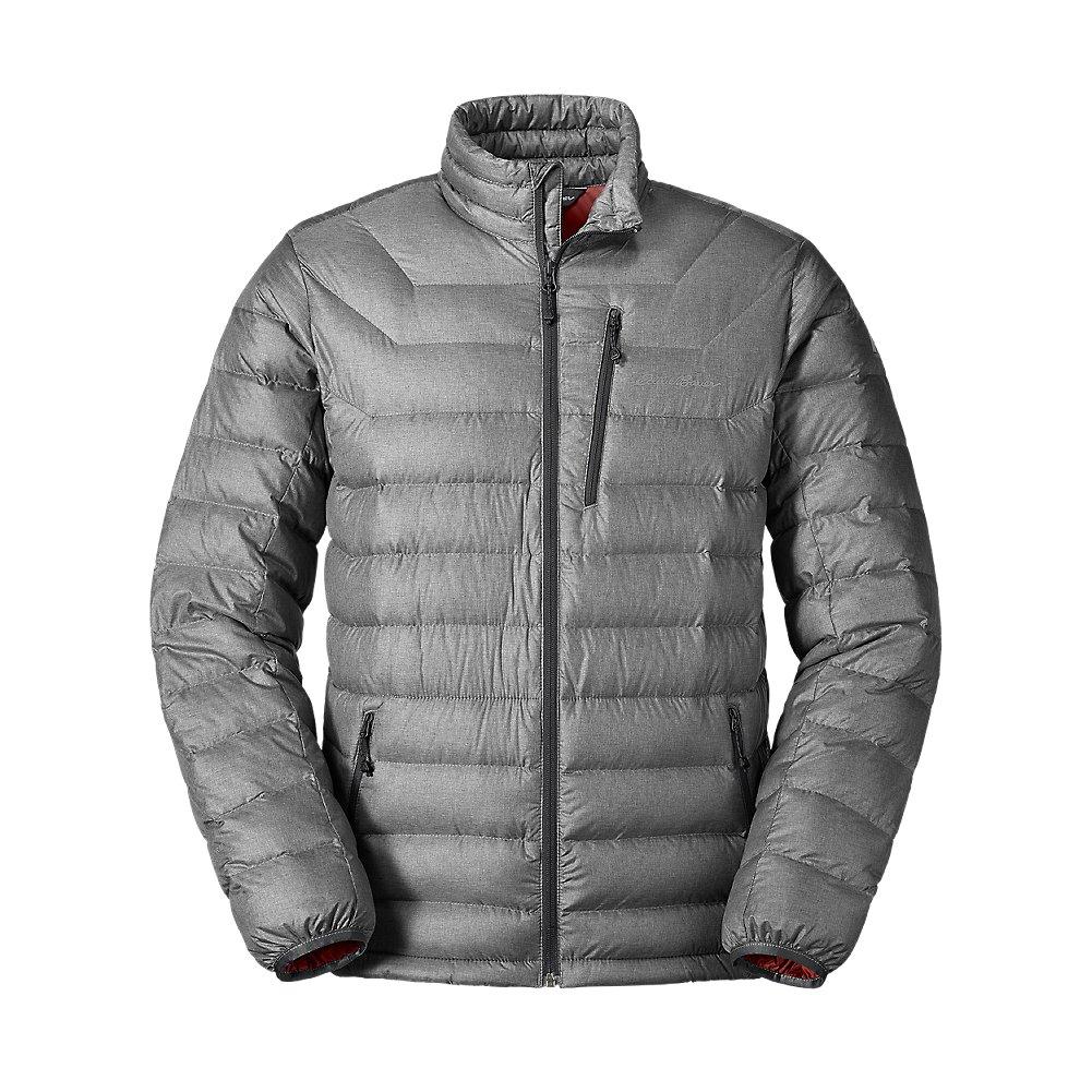 Eddie Bauer Men's Downlight StormDown Jacket, Dk Smoke Htr Regular L