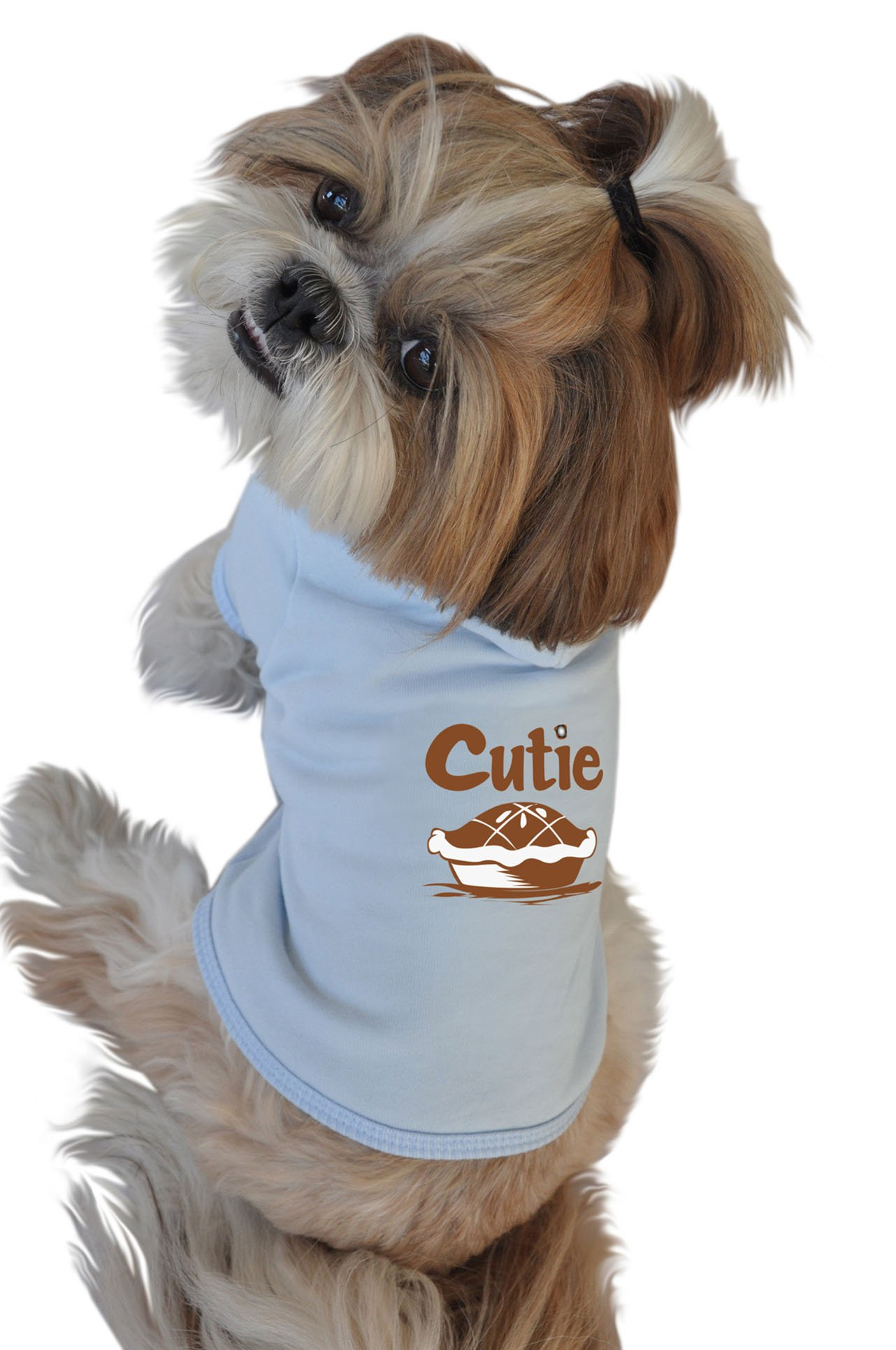 Ruff Ruff and Meow Dog Hoodie, Cutie Pie, Blue, Extra-Large