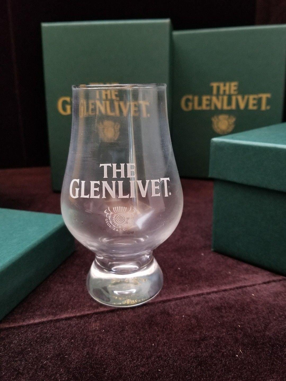 The Glenlivet Scotch Glencairn Snifter Glass