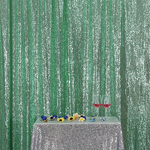 3e Home 6FT x 6FT Sequin Photography Backdrop Curtain for Pa