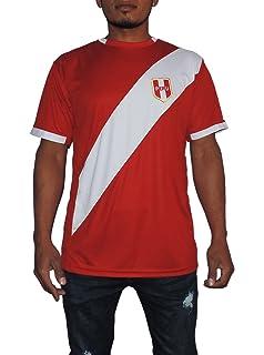Peru Soccer Jersey Replica For Men, White or Red. Russia World Cup 2018.