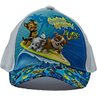 Paw Patrol Dogs Chase, Marshall and Rubble Gorra Catch The Waves Pups, Gorra de béisbol, Gorra Infantil, niñas y niños…