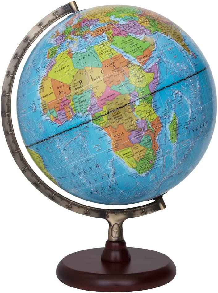 "Waypoint Geographic Navigator II Illuminated Desktop Globe, 12"""