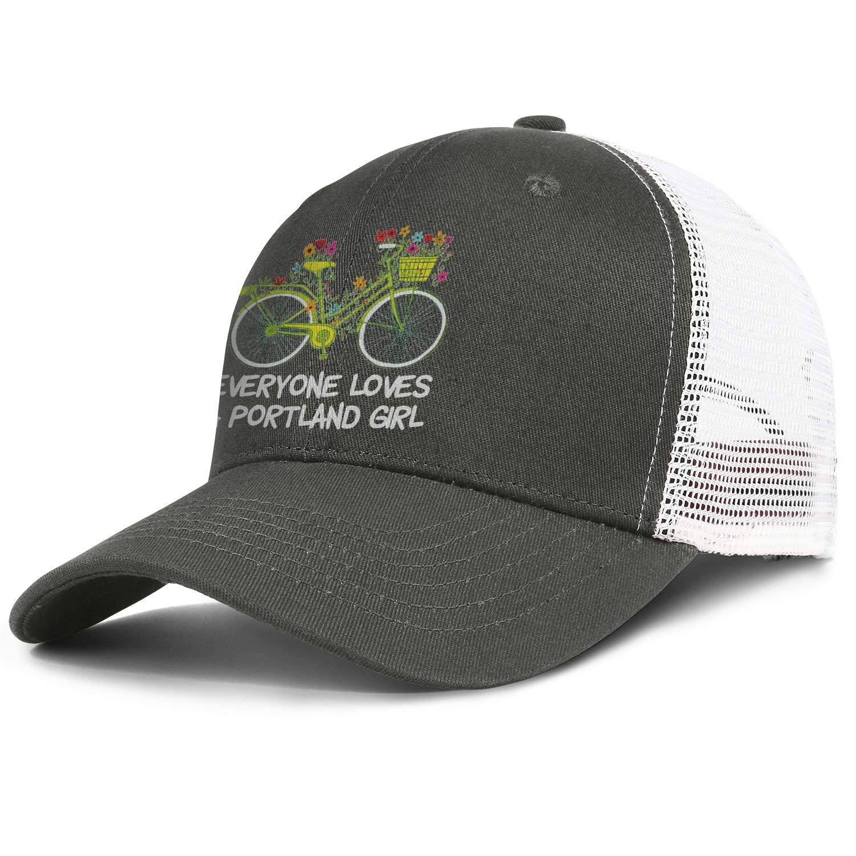 Everyone Loves Portland Oregon Girl Men//Women Street Dancing Snapback Cap Baseball Hats