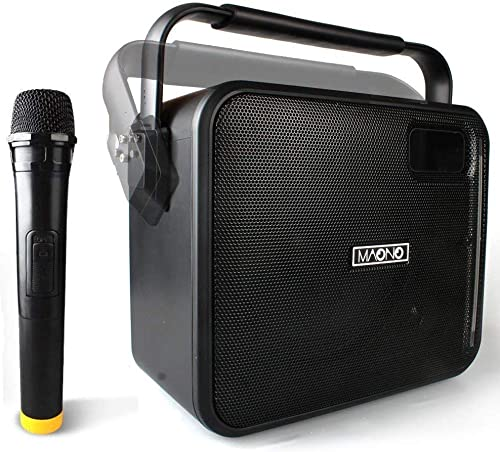 Wireless PA System with Wireless Mic Karaoke Machine