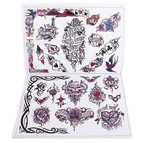 Tatuaje Libro De Referencia Fotos Instrucciones Diseño Mariposa ...