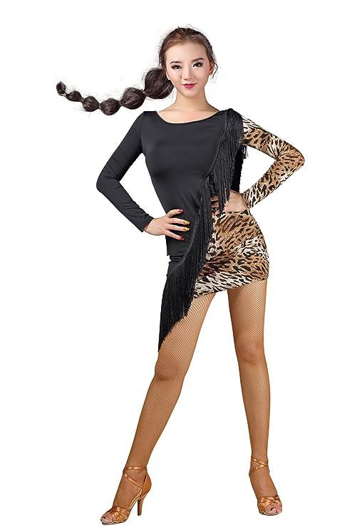 the best attitude 38dd3 85be9 HCDANCE - Abito femminile per balli latino-americani ...