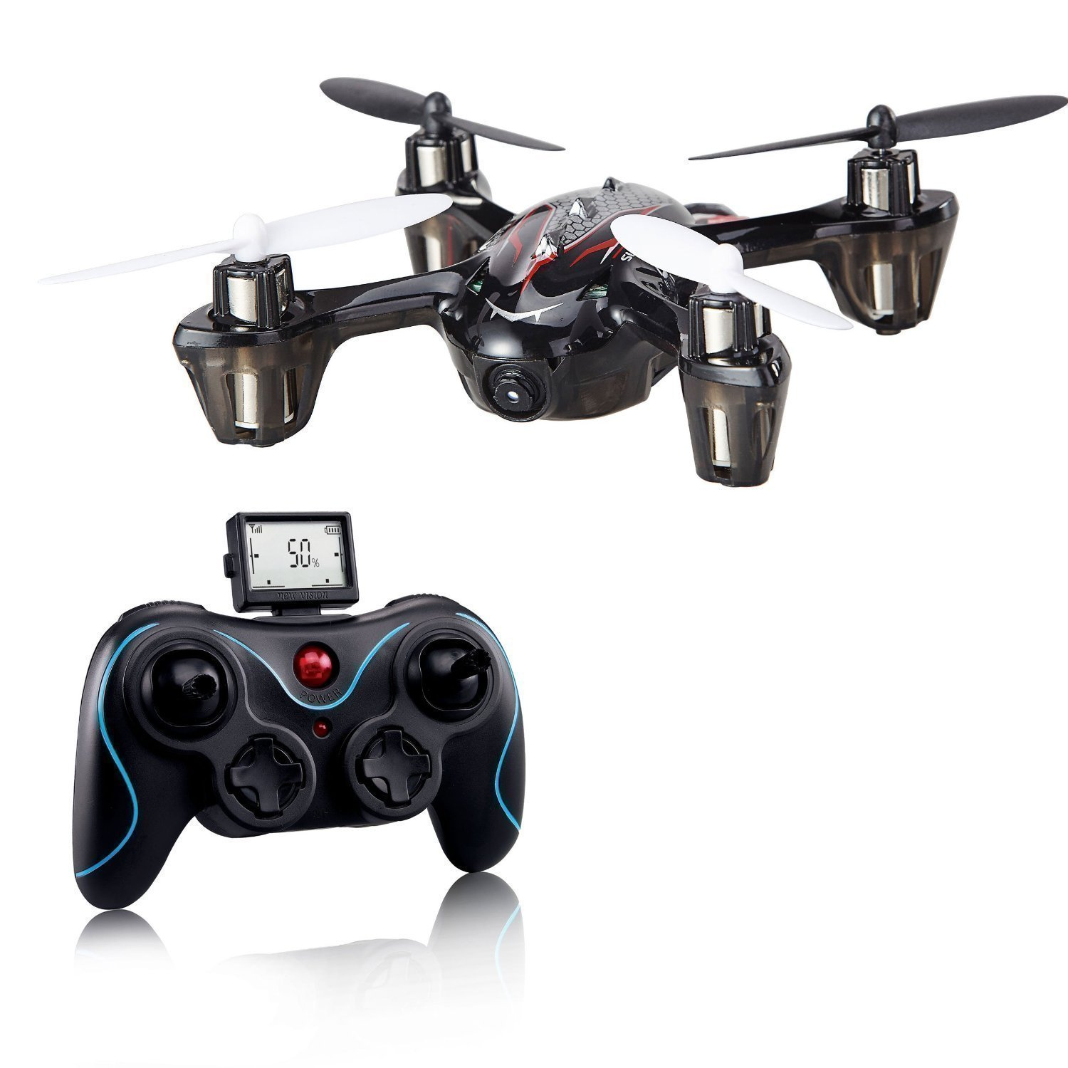 Amazon Holy Stone F180C Mini RC Quadcopter Drone With Camera 24GHz 6 Axis Gyro Bonus Battery And 8 Blades Toys Games