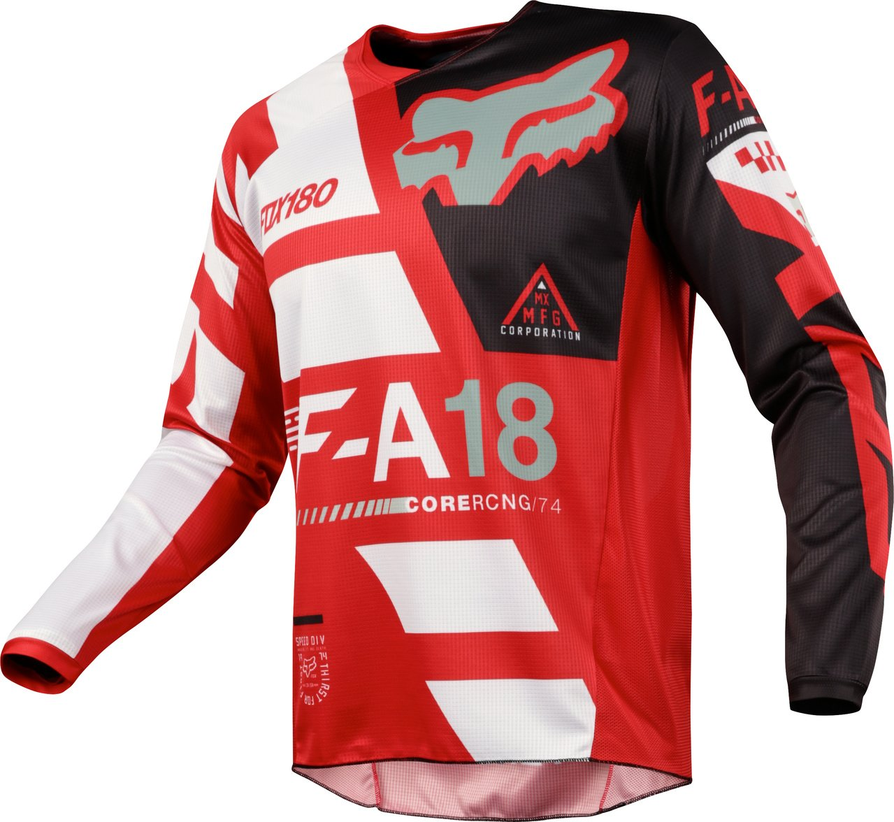 Fox Racing 180 Sayak Red Jersey/ Pant Youth Combo - Size Y-XLARGE/ 28W by Fox Racing MX (Image #2)