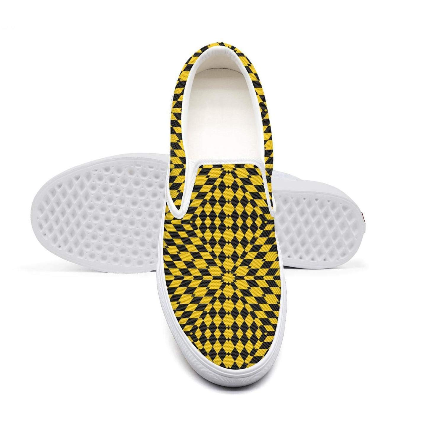 Vosda Mens Texture from Rhombus Checkerboard Basketball Sneakers for Mens Breathable Running Shoes
