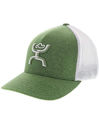 aabcb3a4 HOOey Men's Coach Green Mesh Cap at Amazon Men's Clothing store: