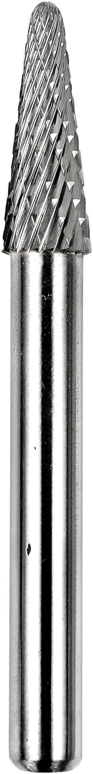 Dedeco 13312 Carbide Bur, Double-Cut, 14 degree